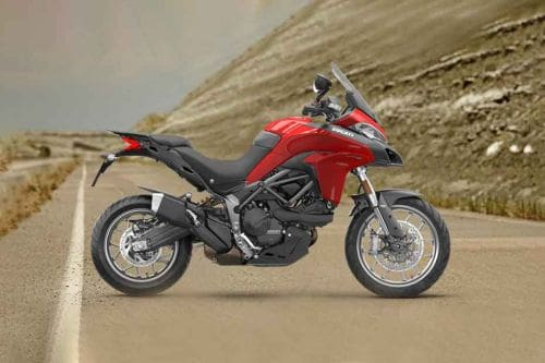 Ducati MultiStrada Right Side Viewfull Image