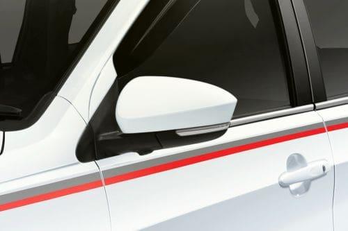 Daihatsu Terios Drivers Side Mirror Front Angle