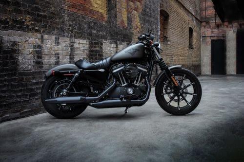 Harley Davidson Iron 883 Right Side Viewfull Image