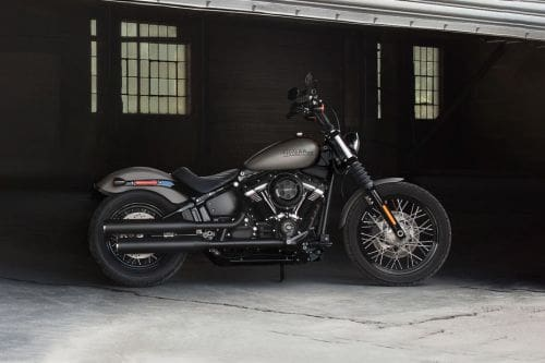 Harley Davidson Street Bob Right Side Viewfull Image