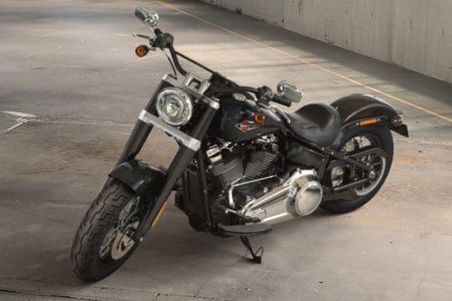 Harley Davidson Softail Slim Slant Front View Full Image