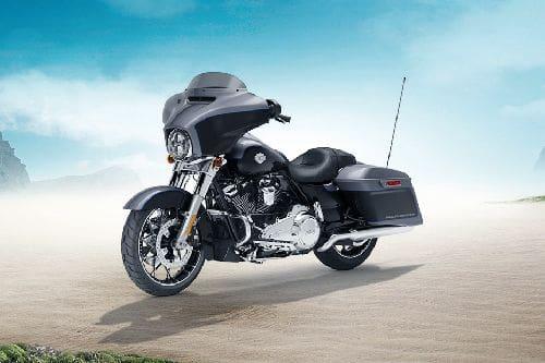 Harley Davidson Street Glide Special Slant Front View Full Image