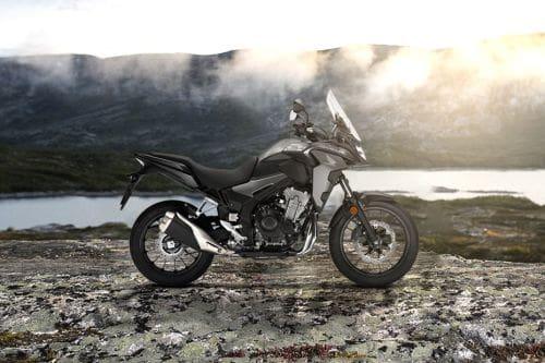 Honda CB500X Right Side Viewfull Image