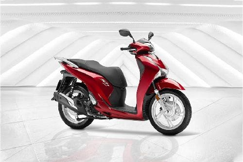 Honda Sh150i Slant Rear View Full Image