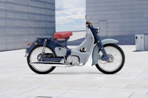 Honda Super Cub C125 Right Side Viewfull Image