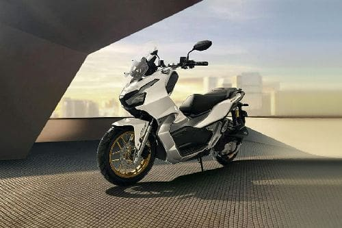 Honda ADV 150 Slant Front View Full Image