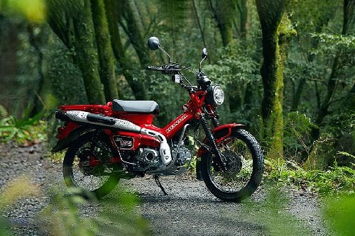 Samping kanan Honda CT125