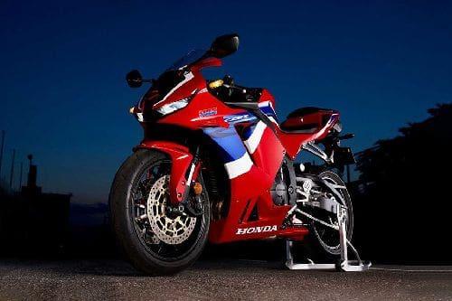 Honda CBR600RR Slant Front View Full Image