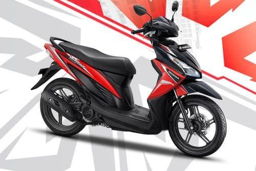 Honda Vario 110 Slant Rear View Full Image