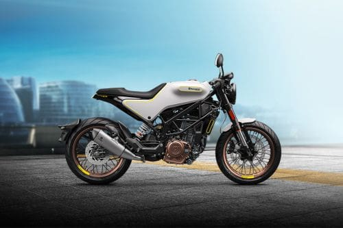 Husqvarna Vitpilen 401 Right Side Viewfull Image