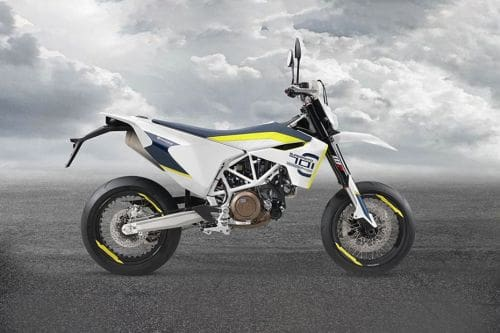 Husqvarna Supermoto 701 Right Side Viewfull Image