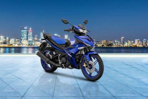Yamaha MX King Slant Rear View Full Image