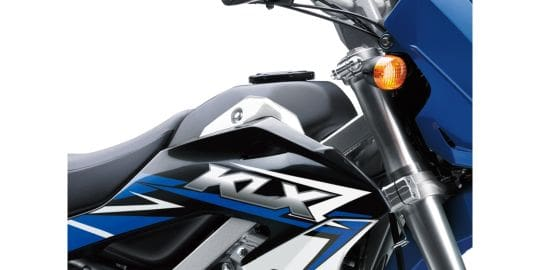 Kawasaki KLX 150 Fuel Tank View