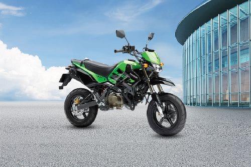 Kawasaki KSR Pro Slant Front View Full Image