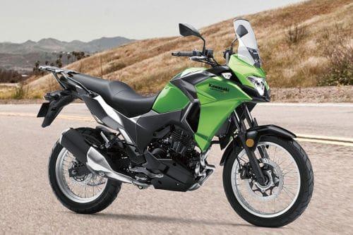 Tampak belakang serong Kawasaki Versys X 250