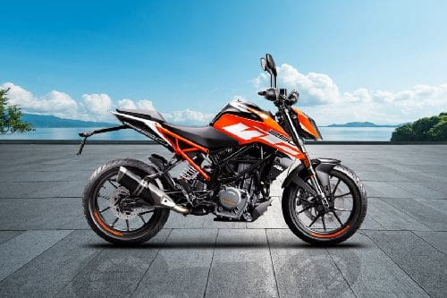 Samping kanan KTM  Duke 250