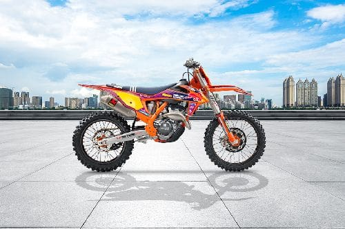 KTM 250 SX-F Troy Lee Designs Right Side Viewfull Image