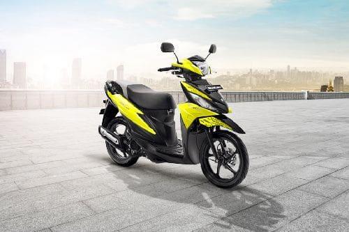 Suzuki Address Slant Rear View Full Image