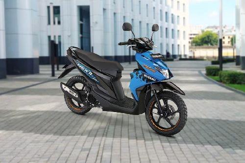 Tampak belakang serong Suzuki NEX II