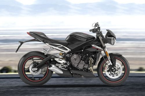 Triumph Street Triple Right Side Viewfull Image
