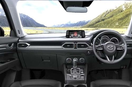 Dashboard View of CX 5