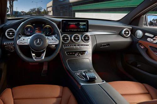 Dashboard View of C-Class Sedan