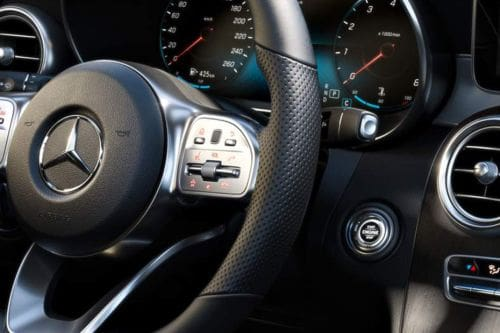 Mercedes Benz C-Class Sedan Multi Function Steering