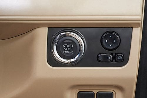 Mitsubishi Xpander Engine Start Stop Button