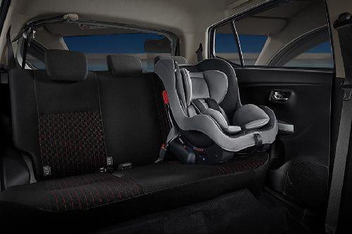 Toyota Agya Rear Seats