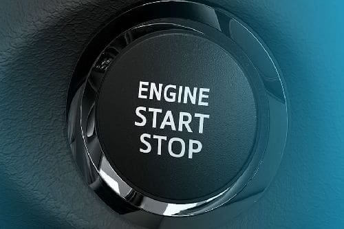 Toyota Yaris Engine Start Stop Button