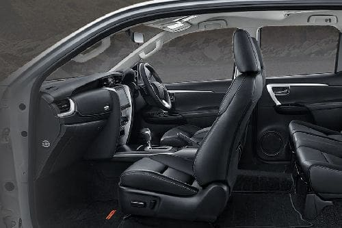 Fortuner Front Seats